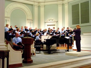 Photograph of Chapel Hill Community Chorus