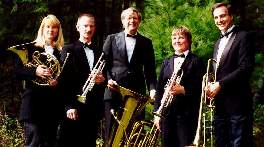 A photo of the Constitution Brass Quintet