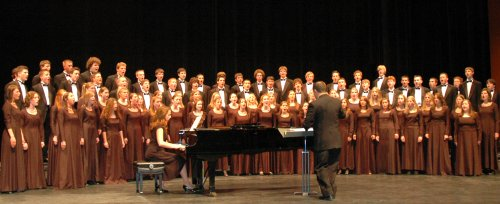 Photograph of Hamburg High School Concert Chorale