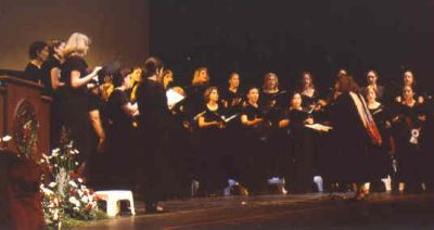 Photograph of Meredith College Chorale