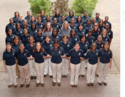 Photograph of Nimitz High School Varsity Womens Choir