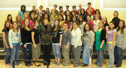 A photo of West Ottawa High School Choir
